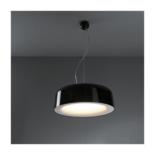 Souffle suspension down LED 2700K Dim shiny black - white  i gruppen Tak / Taklampor hos Ljusihem.se (11810651-SM)