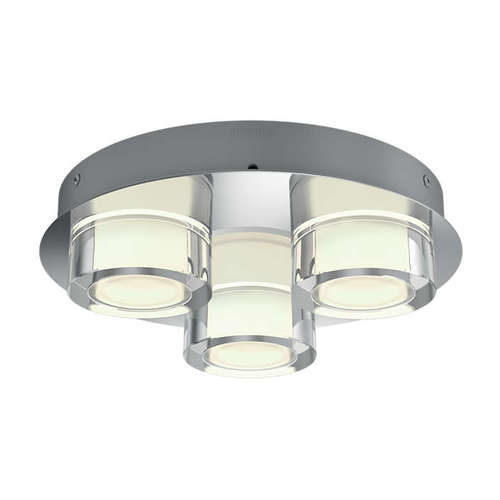Resort ceiling lamp chrome 3x4.5W i gruppen Badrum / Taklampor hos Ljusihem.se (8718696162835-PH)