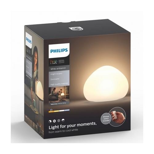 Wellner Hue Table Lamp White 9 5w 915005401301 Philips