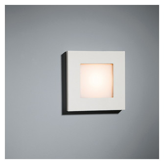 Doze square wall LED 2600K Tre dim white