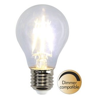 Illumination LED filament lampa E27 810lm Dimmerkomp.