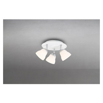 Fico Ceiling (3) glass/ metal G9 5W LED