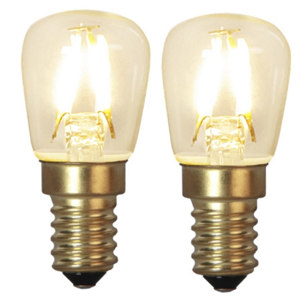 Helt nya ljusihem.se | LED-lampa E14 2-pack Soft Glow | Star Trading GE-99