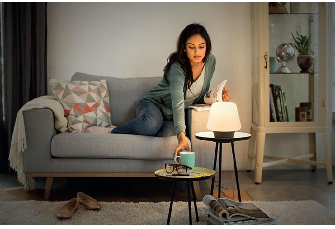 Ljusihem Se Wellness Hue Table Lamp Black 1x9 5w 230