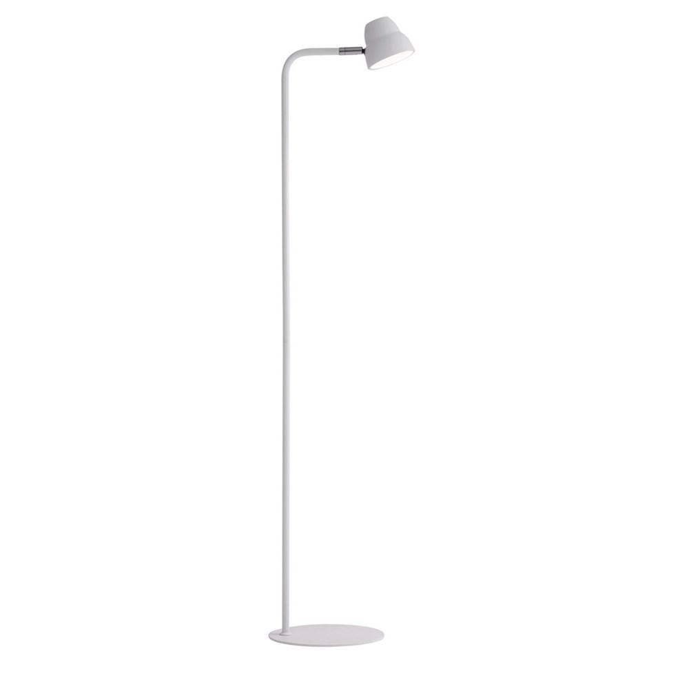 Fico golvlampa hvid LED Herstal
